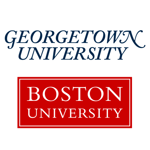 Georgetown University and Boston University